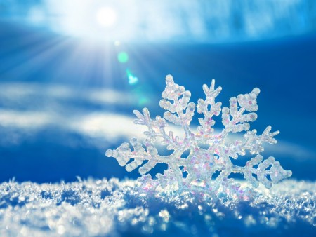 crystal-snowflake wallpaper