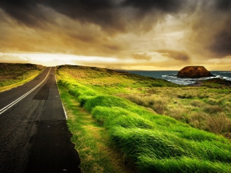 road-west wallpaper