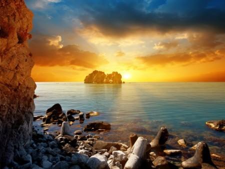 superb-bright-sunset wallpaper
