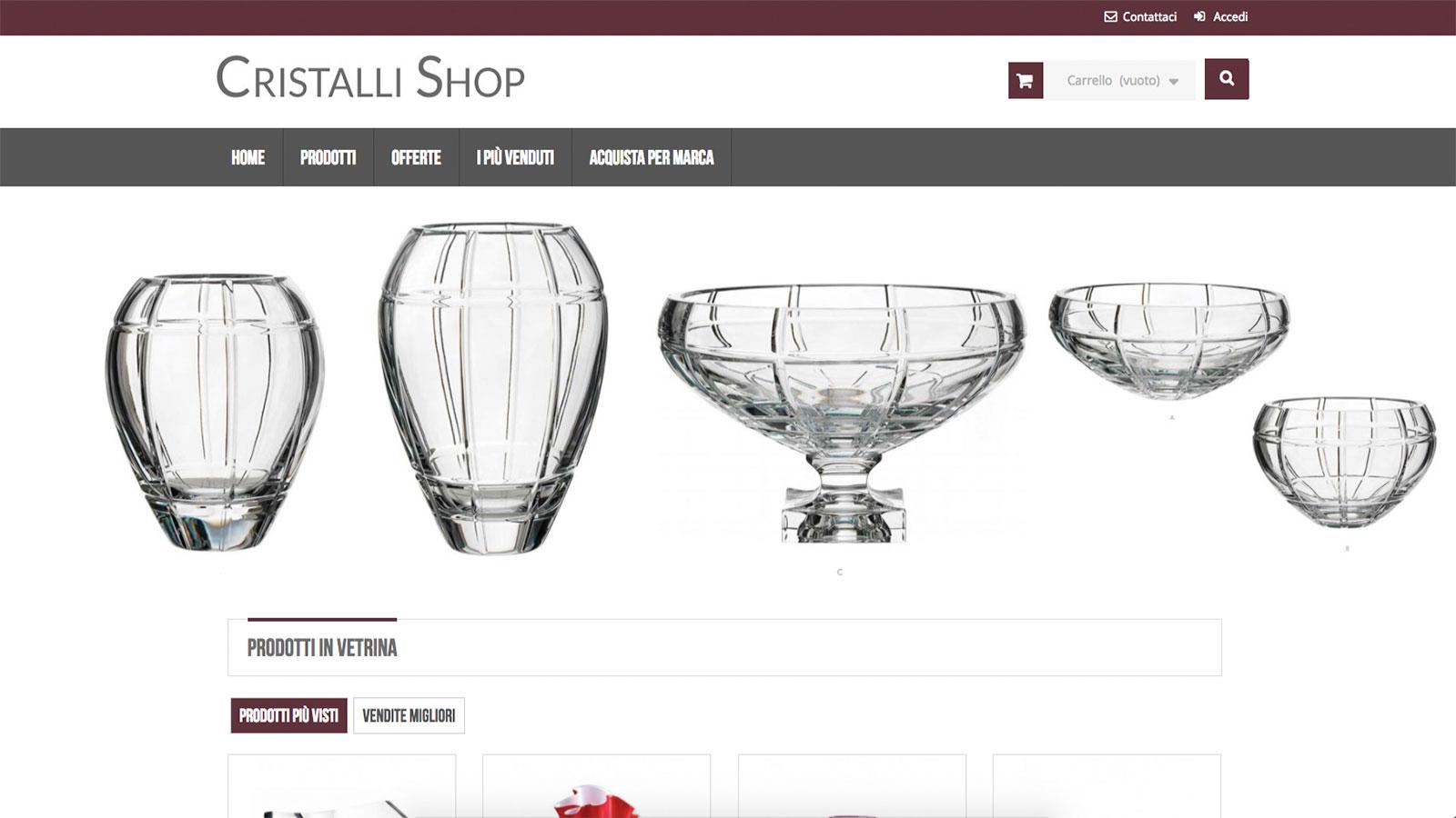 Cristalli Shop